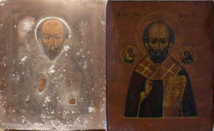 Реставрация иконы Николы Чудотворца